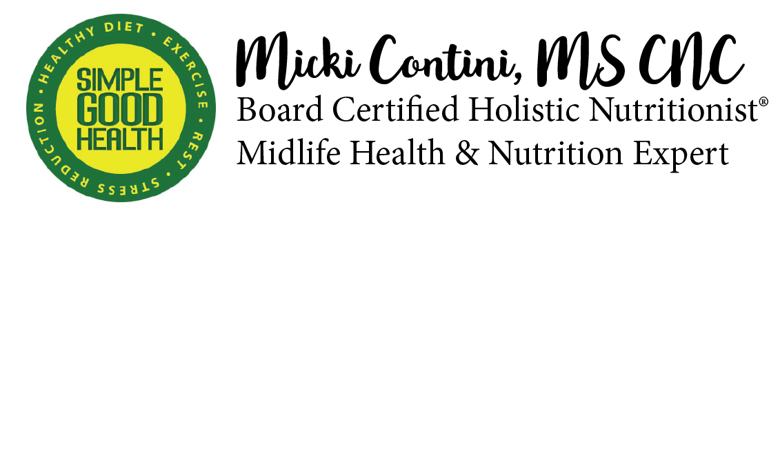 Micki Contini, MS, CNC Board Certified in Holistic Nutrition®