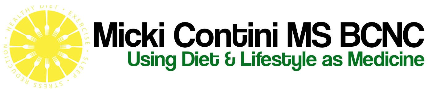 Micki Contini, MS, BCNC Board Certified in Holistic Nutrition®